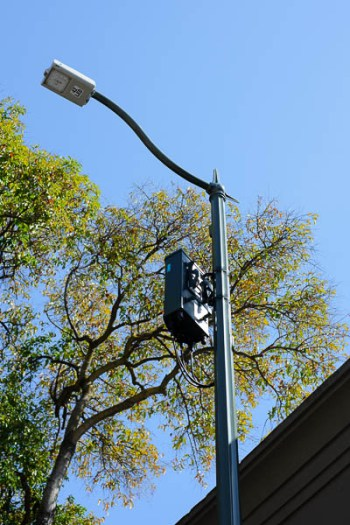 Powerful small cell antenna