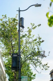 Small Cell and Power Supply on Same Pole