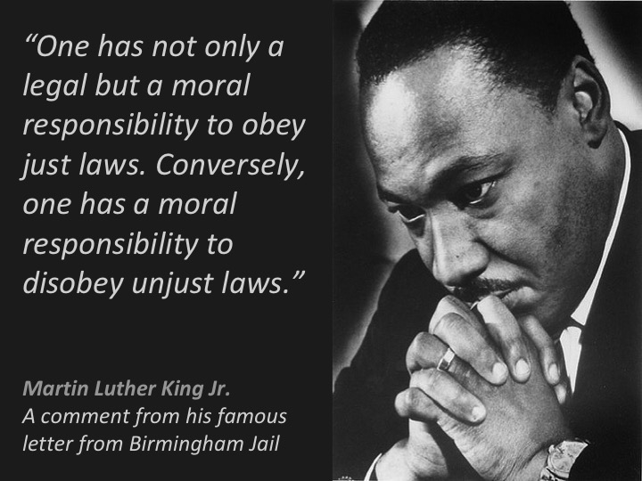 just and unjust laws