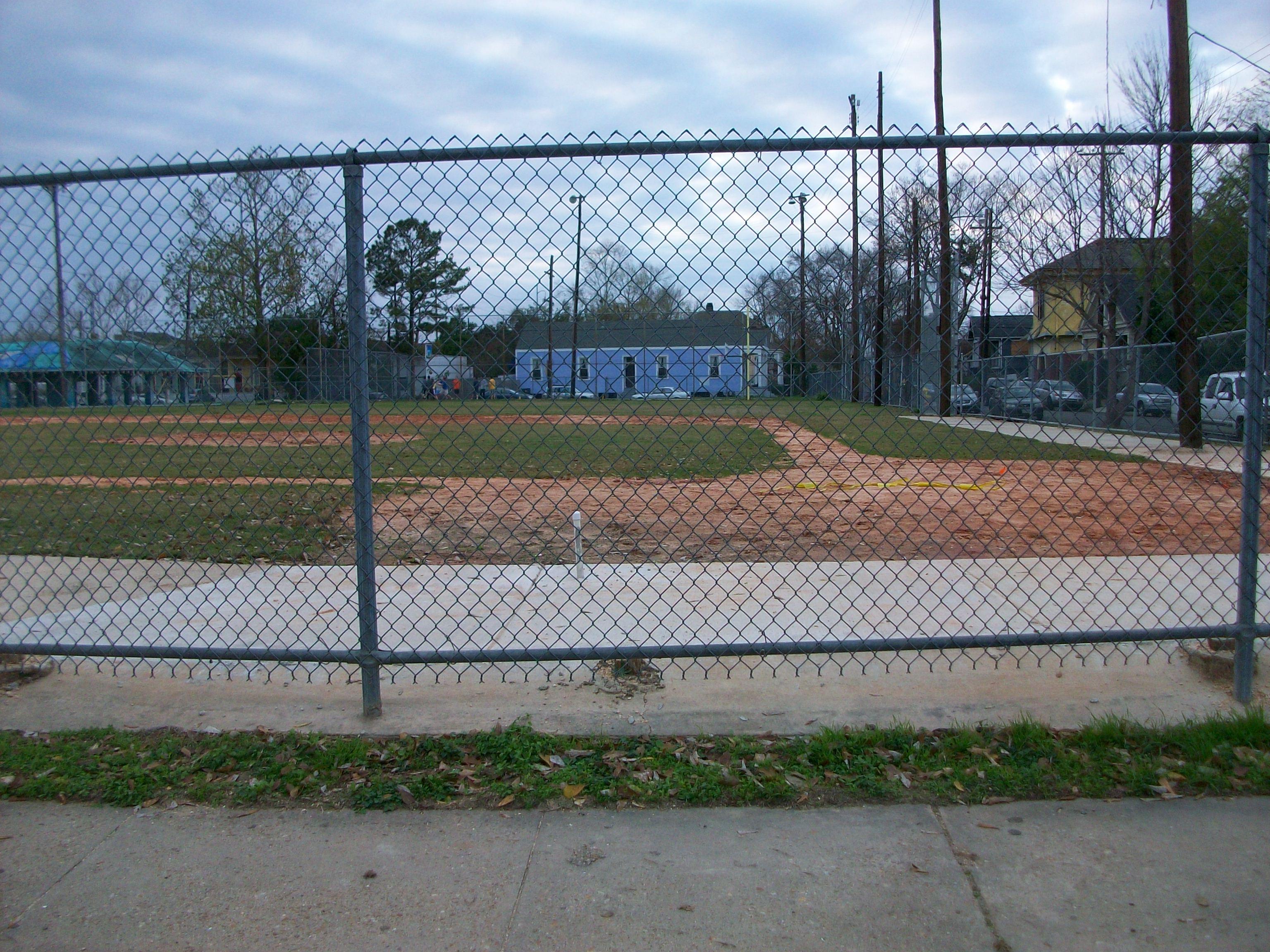 Baseball field at Laurel Street