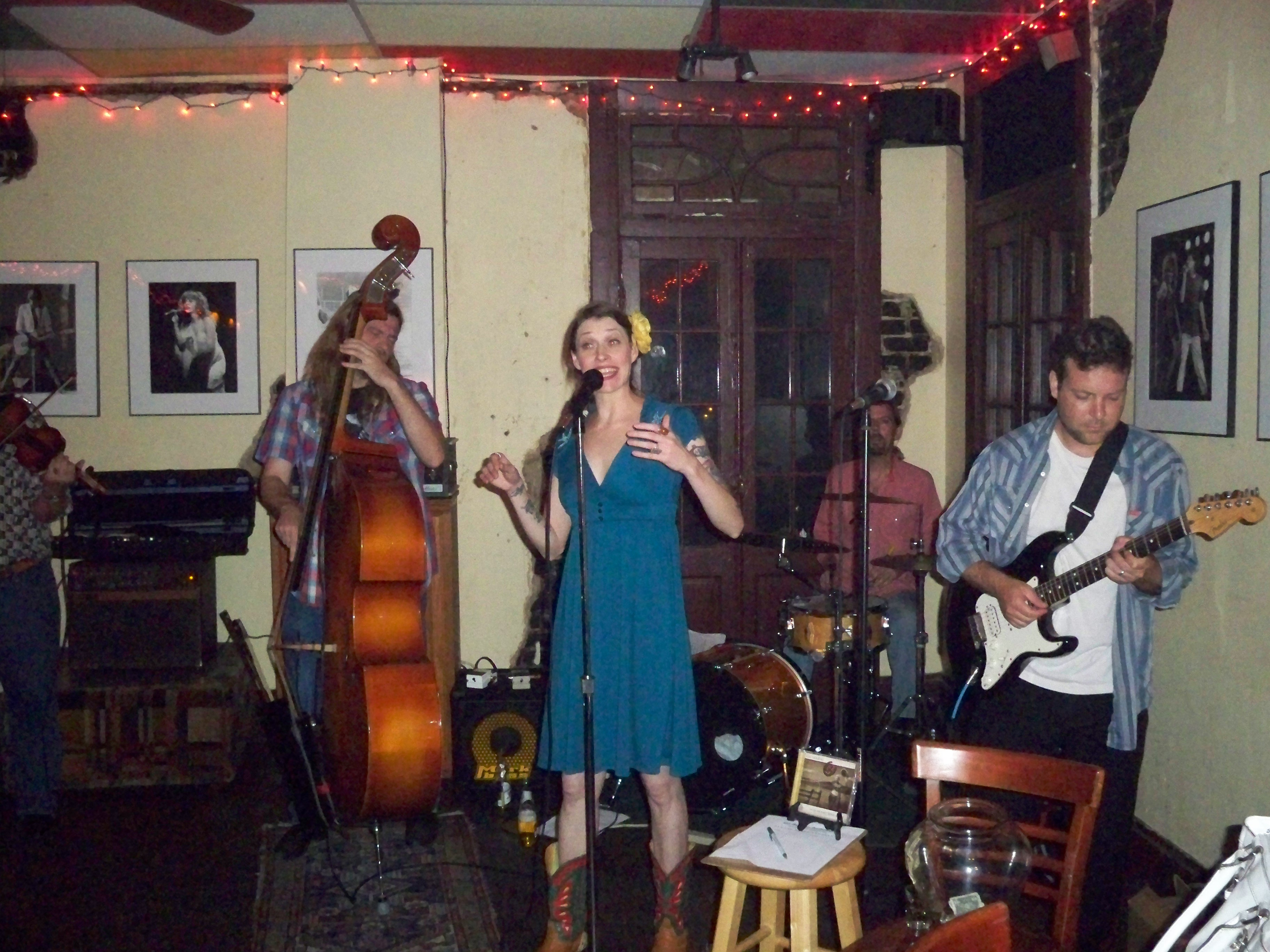 Gal Holiday and the Honkeytonk Revue at Mimi's in the Marigny