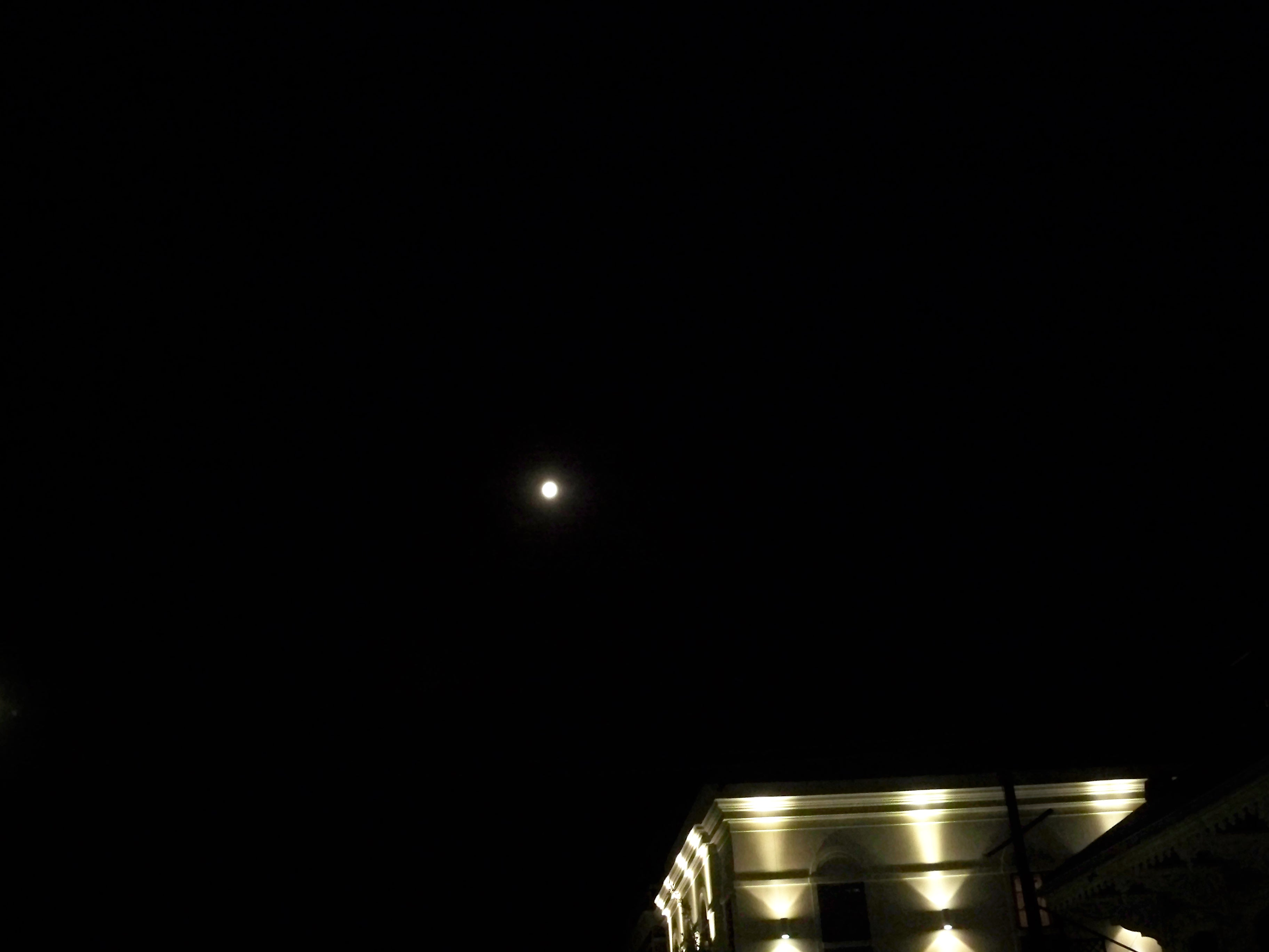 Moon at Euterpe and St. Charles