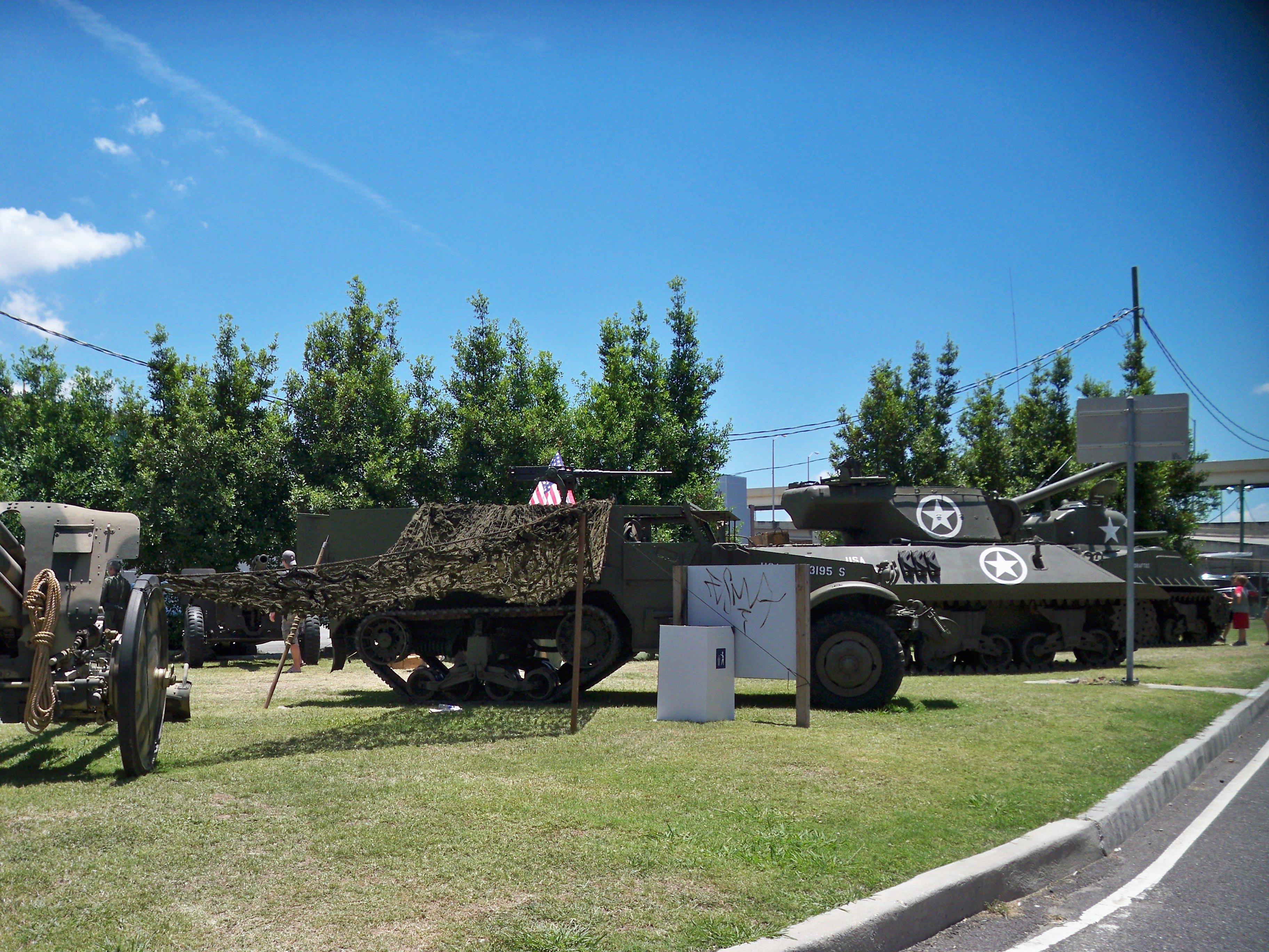 Tanks at the WWII Museum