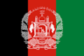 Neighbouring Countries of India and their Capitals Afganistan flag