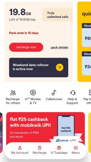 How to Check the Net Balance of Vodafone SIM from App