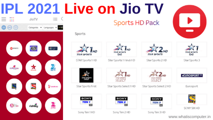 How to Watch IPL 2021 Live on Jio TV