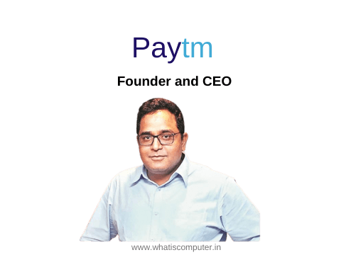 Paytm founder and CEO