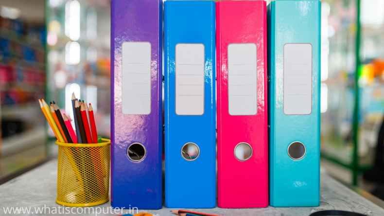stationery shop file
