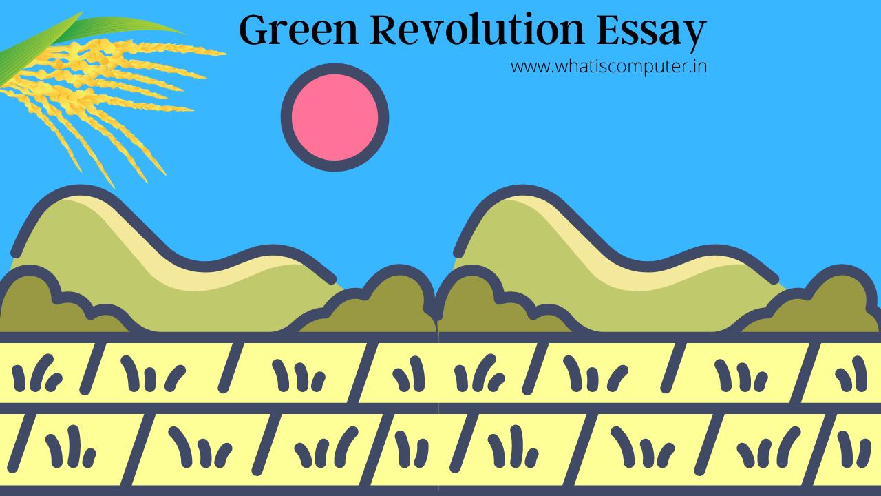 Green-Revolution-Essay