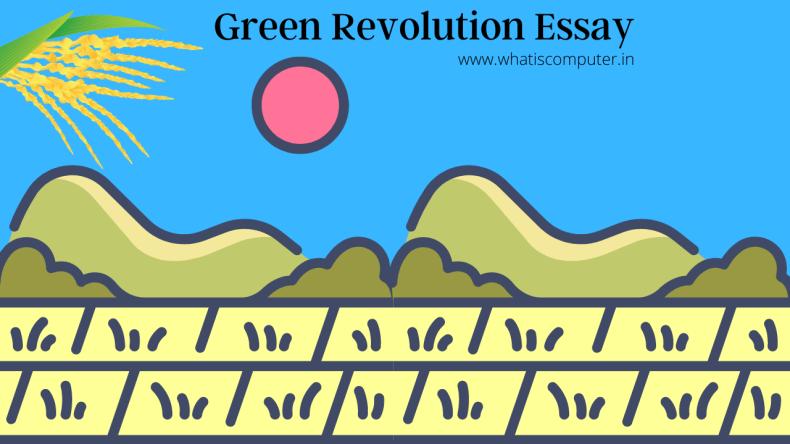 Green Revolution Essay