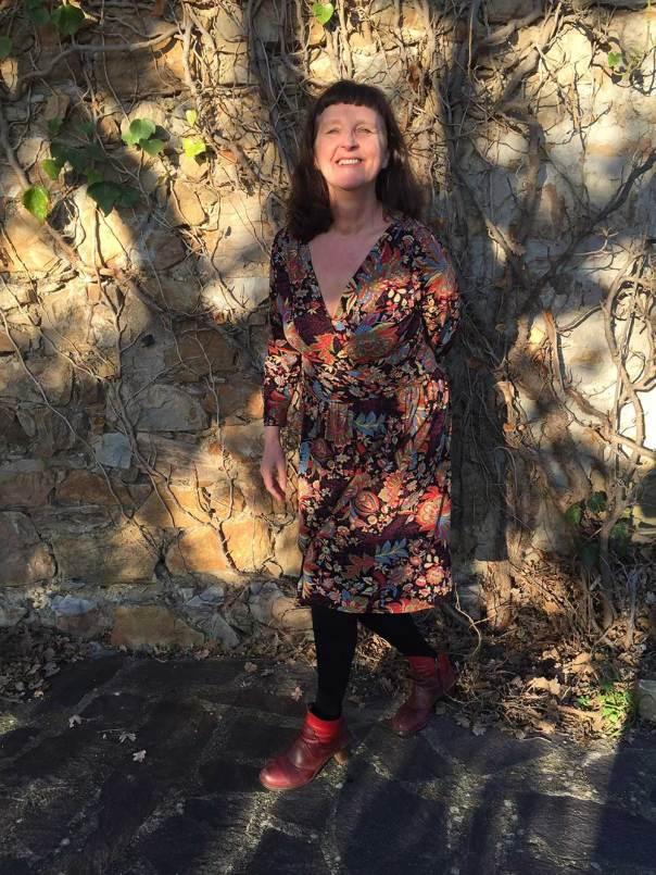 Wren dress Colette Patterns