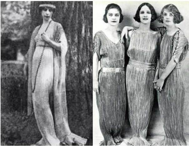 Delphos gown