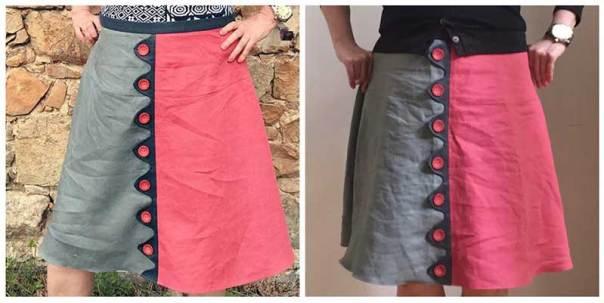 Mashup Skirt