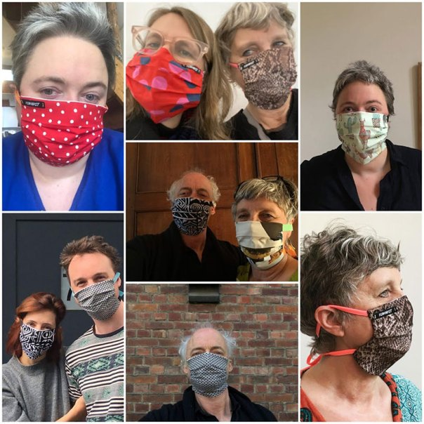 sewing overview 2020 - Facemasks