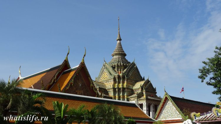 The Wat Pho Bangkok