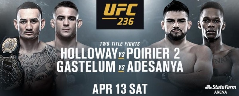 Stream UFC 236 Anywhere