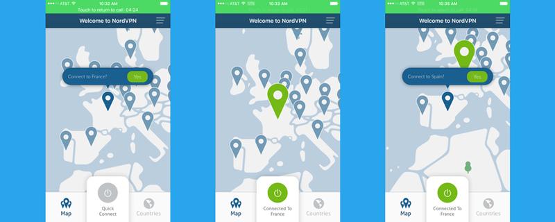NordVPN App for iOS