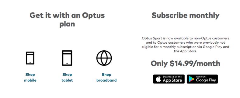 Optus Subscription
