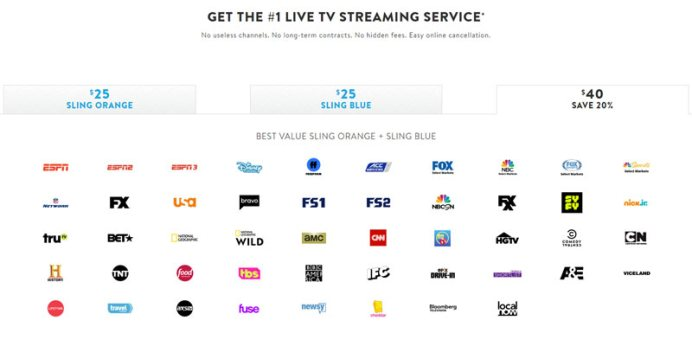 Sling TV Bundles