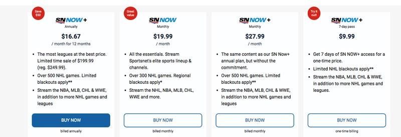 Sportsnet Subscription