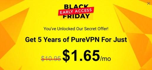 PureVPN Black Friday