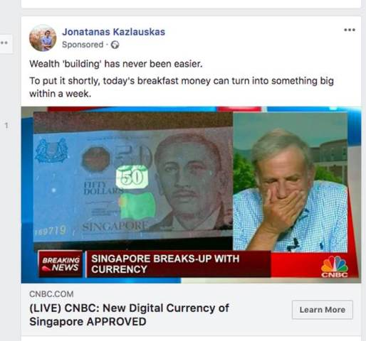 Cryptocurrency Scam
