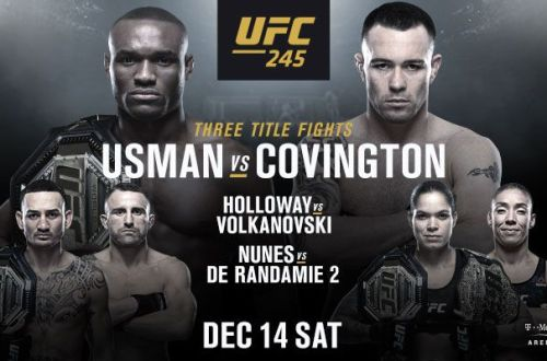 How to Watch UFC 245 Live Anywhere