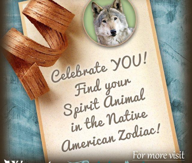 Native American Zodiac Birth Animal Totems X