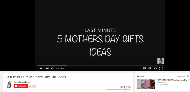 Last minute! 5 Mothers Day Gift Ideas