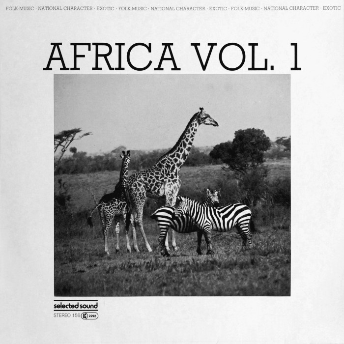 Selected Sound ‎– Folklore-Serie – AFRICA VOL.1