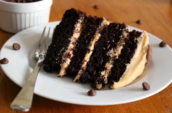 cake cara choc