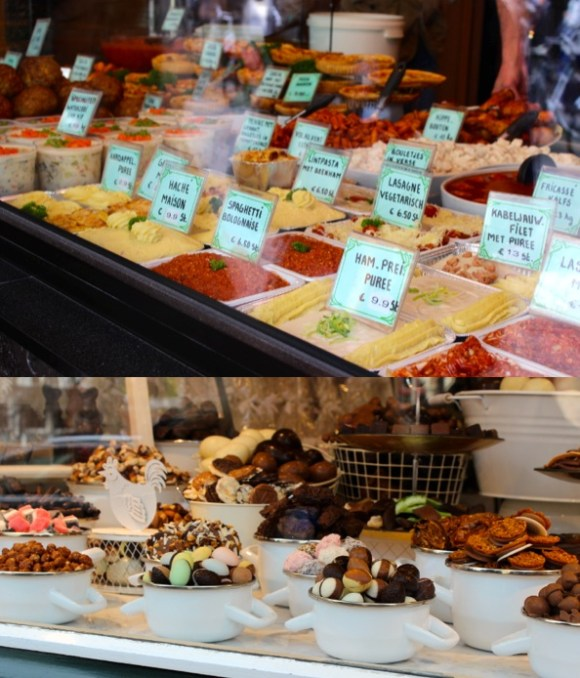 sweet and savoury in bruges