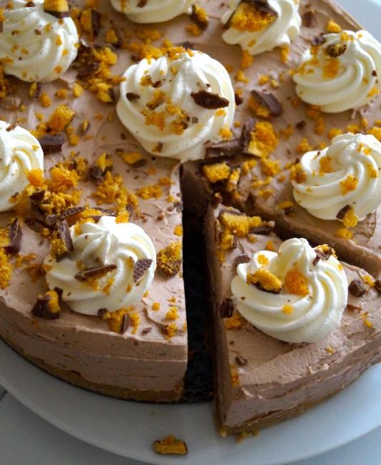 honeycomb cheesecake chocolate