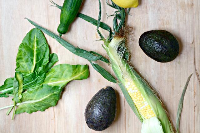 Avocado Cucumber Schav