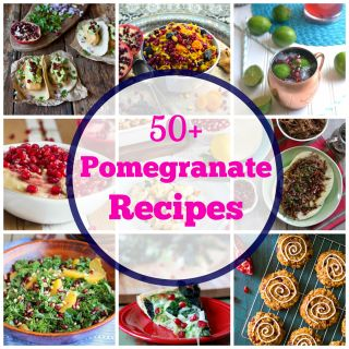 50+ Pomegranate Recipes