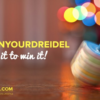 #SpinYourDreidel Giveaway with Judaica.com!
