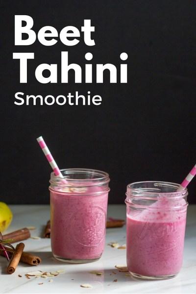 Beet Tahini Smoothie