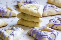 Lemon Lavender Hamantaschen