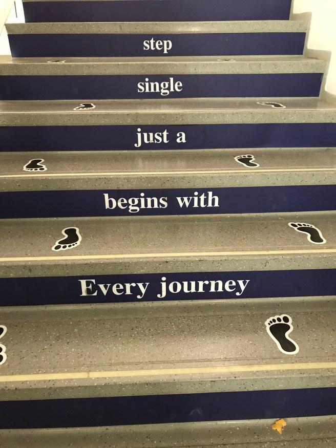 Każda przygoda, zaczyna się od małego kroku