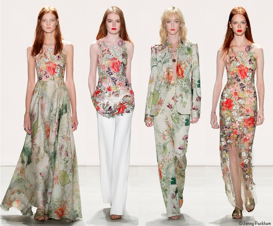Jenny packham spring 2016 runway show collection pictures