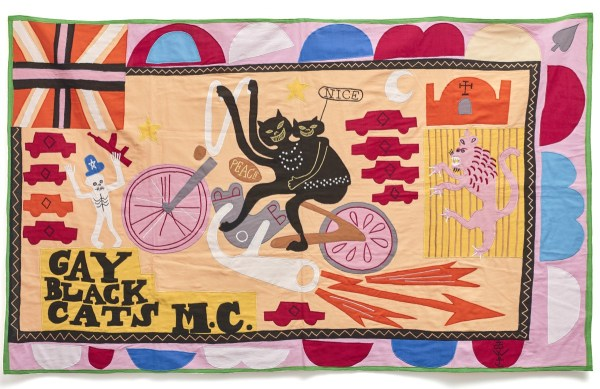 Grayson Perry, Gay Black Cats MC, 2017 - low res