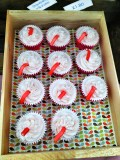 Strawberry Milkshake cupcakes from Fox's Cupcake Co