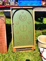 Vintage pinball game