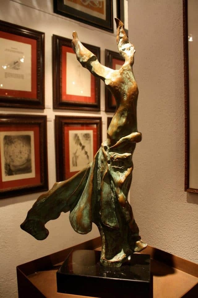 Salvador Dali sculpture