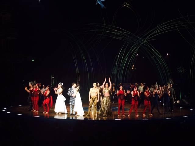 Cirque du Soleil cast