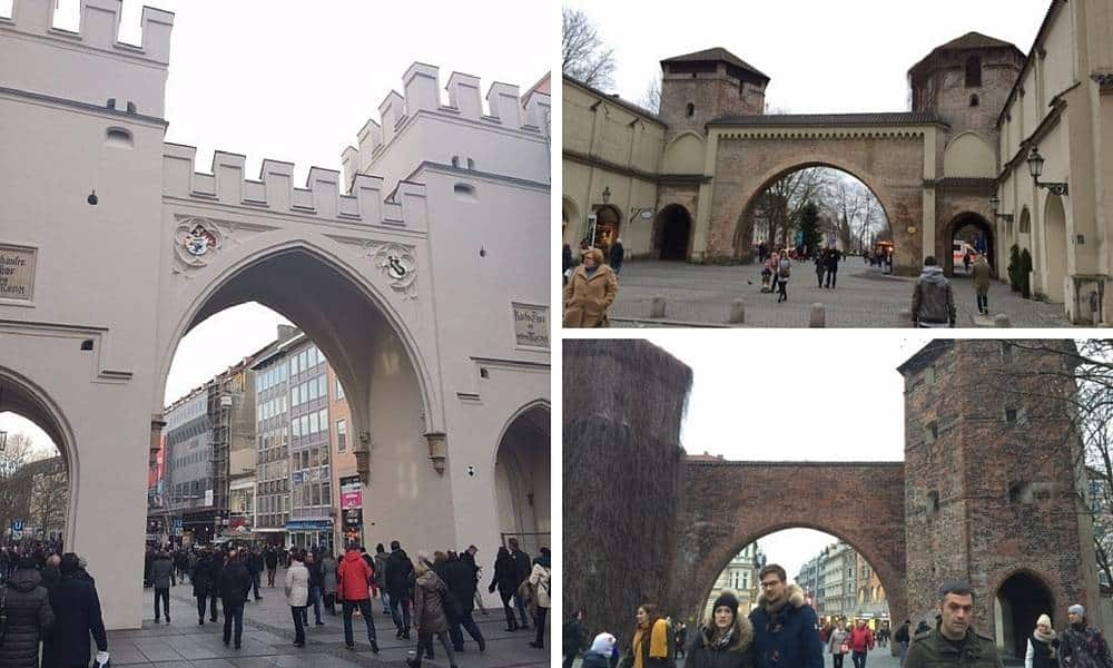Munich City Gates
