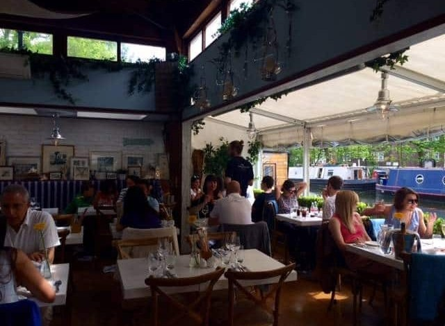 The Summerhouse restaurant in London
