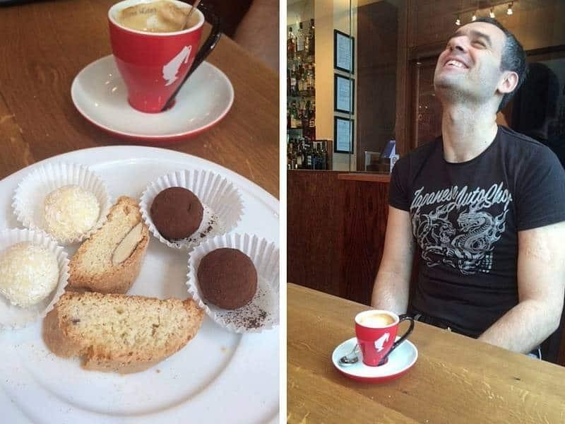 Coffee at Latium