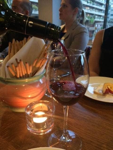 Wine and grissini