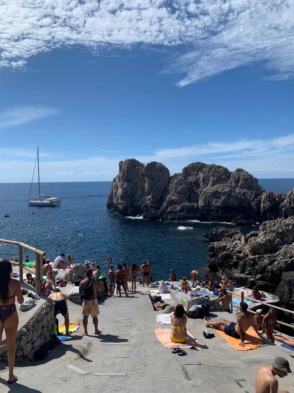 Faro beach Anacapri